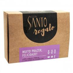 Kit Regalo Muito Prazer, Felicidade - Santo - ShopSensual