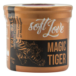 Bolinha Explosiva Soft Ball Triball Magic Tiger 03 Unidades Soft Love - ShopSensual
