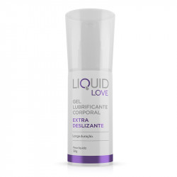 Gel Anestesico Lubrificante Corporal Liquid Love Extra Deslizante - ShopSensual