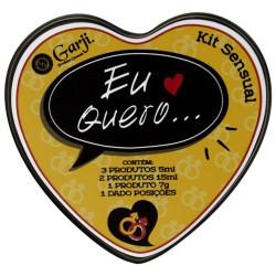Kit Sensual Eu Quero Gay Garji - ShopSensual