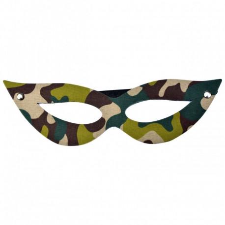 Máscara Tiazinha Camuflada Dominatrix - ShopSensual