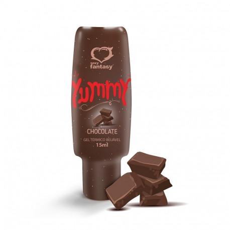 Yummy Gel Térmico Comestível Chocolate 15ml Sexy Fantasy - ShopSensual