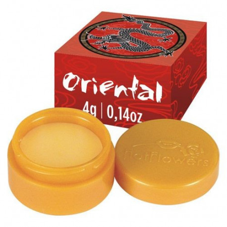 Oriental creme de massagem 4g Hot Flowers - ShopSensual