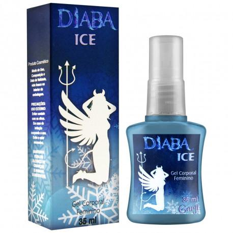 Diaba Ice Gel Excitante Feminino Esfria em Spray Garji - ShopSensual