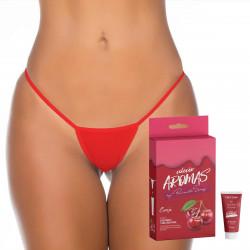 Kit Calcinha Fio com Gel Beijável Coleção Aromas by Pimenta Sexy - ShopSensual