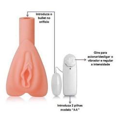Masturbador Vagina Em Cyber Com Bullet - ShopSensual
