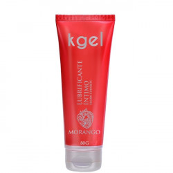 KGel Lubrificante Intimo Morango 80g - ShopSensual