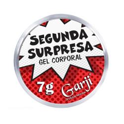 Segunda Surpresa Gel Excitante 7g Garji - ShopSensual