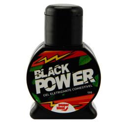 Black Power Eletrizante Comestível 15G Pepper Blend - ShopSensual
