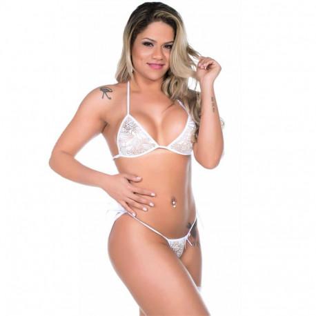 Mini Fantasia Pimentinha Noivinha Pimenta Sexy - ShopSensual