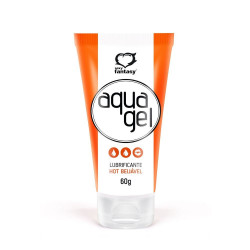 Lubrificante AquaGel Hot 60g Sexy Fantasy - ShopSensual