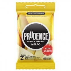 Preservativos Cores e Sabores Melão Prudence - ShopSensual