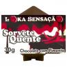 Sorvete Quente Sabor Chocolate com Pimenta Loka Sensação - ShopSensual
