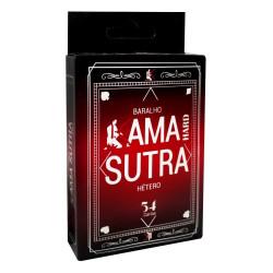Baralho Kama Sutra Hétero Hard 54 Cartas - ShopSensual