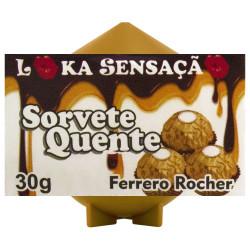 Vela Sorvete Quente Sabor Ferrero Roche Loka Sensação - ShopSensual