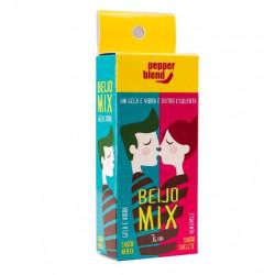 Beijo Mix Gela e Vibra, Esquenta 14gr Pepper Blend - ShopSensual