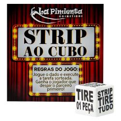 Jogo Dadinho Strip Ao Cubo La Pimienta - ShopSensual