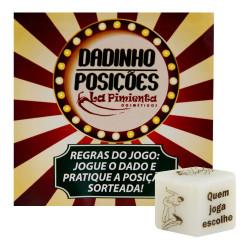 Jogo Dadinho Posições Hétero La Pimienta - ShopSensual