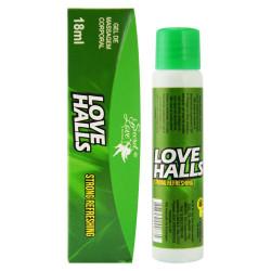 Love Halls Gel Aromatizante Ice Menta 18ml Secret Love - ShopSensual