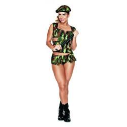 Fantasia Militar SPK Sapeka - ShopSensual
