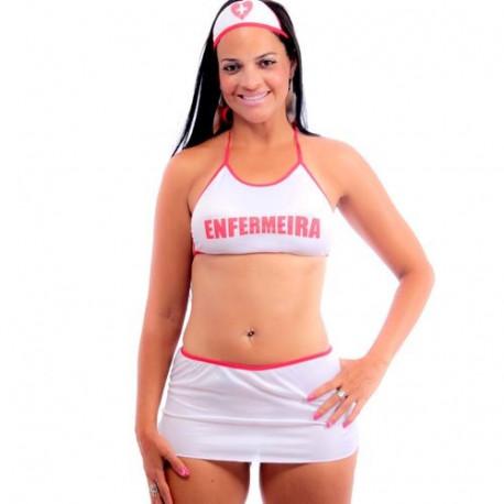 Fantasia Enfermeira Star Pimenta Sexy - ShopSensual