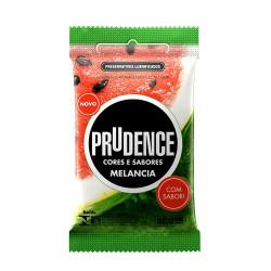 Preservativos Cores e Sabores Melancia Prudence - ShopSensual