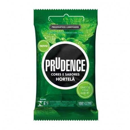 Preservativos Cores e Sabores Hortelã Prudence - ShopSensual