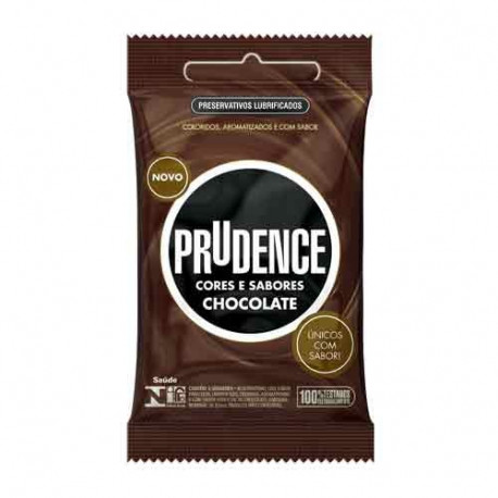 Preservativos Cores e Sabores Chocolate Prudence - ShopSensual
