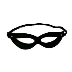 Máscara em Bedim Preta - ShopSensual Sexshop Online