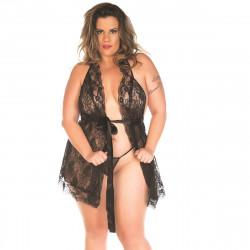 Camisola Luxo Plus Size Pimenta Sexy - ShopSensual