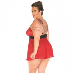 Camisola Assanhada Plus Size Pimenta Sexy - ShopSensual