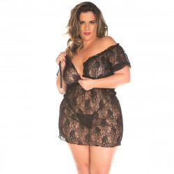 Camisola Ciganinha Plus Size Pimenta Sexy - ShopSensual