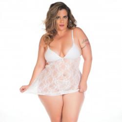 Camisola Jéssica Plus Size Pimenta Sexy - ShopSensual