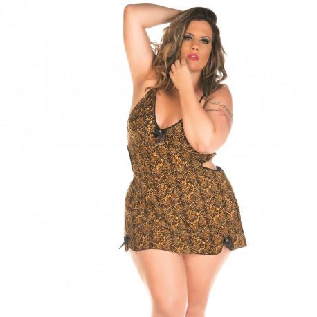 Camisola Lu Plus Size Pimenta Sexy - ShopSensual