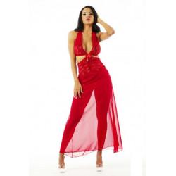 Camisola Sensual Renda Longa Pimenta Sexy - ShopSensual