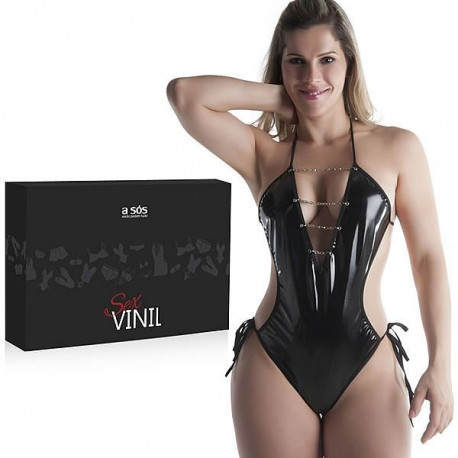 Body Sensual Sex Vinil Preto - ShopSensual