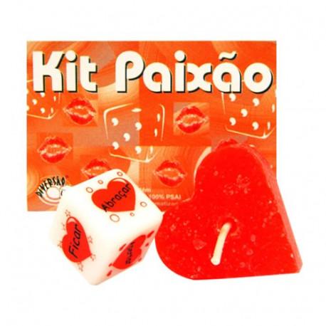Kit Paixão Diversão ao Cubo  ShopSensual Sexshop Online