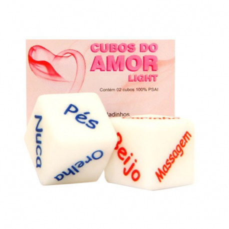 Cubos do Amor Light Diversão ao Cubo - ShopSensual