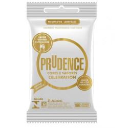 Preservativo Celebration Sabor Vinho Espumante Prudence - ShopSensual