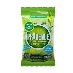 Preservativos Cores e Sabores Caipirinha Prudence - ShopSensual