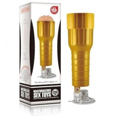 Masturbador Flashlight Com Ventosa Desire Cup - ShopSensual