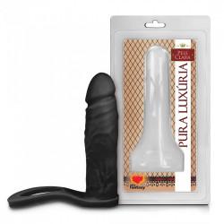 Anel Companheiro Preto 9,7 X 2,5 Sexy Fantasy - ShopSensual
