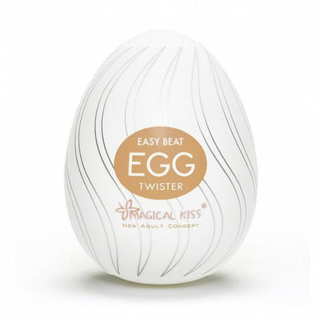 Masturbador Egg Magical Kiss TWISTER - ShopSensual