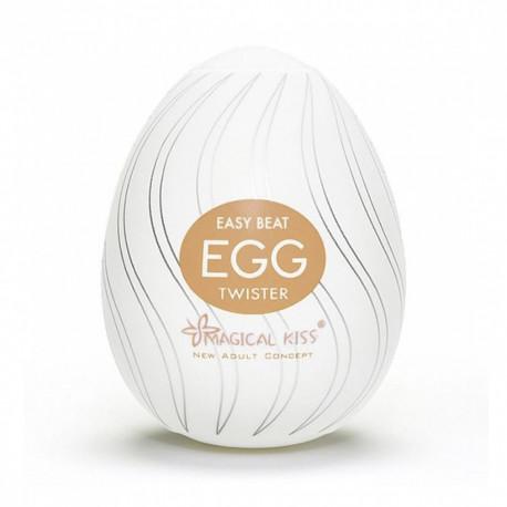 Masturbador Egg Magical Kiss TWISTER - ShopSensual