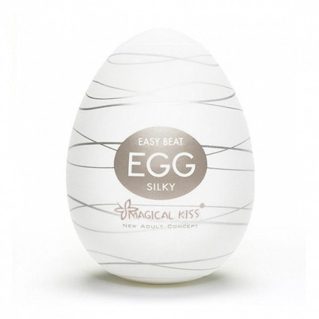 Masturbador Egg Magical Kiss SILKY - ShopSensual