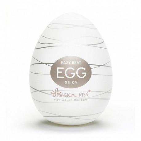 Masturbador Egg Magical Kiss SILKY - ShopSensual