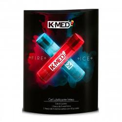 Gel Lubrificante Íntimo Fire e Ice K-Med - ShopSensual