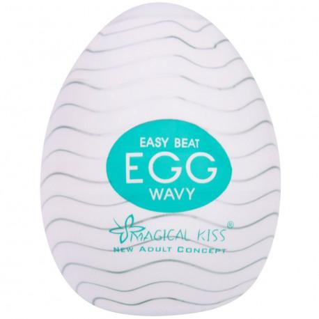 Masturbador Egg Magical Kiss WAVY - ShopSensual