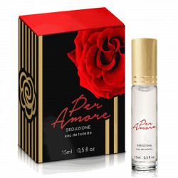 Perfume Afrodisíaco Per Amore 15ml Intt - ShopSensual