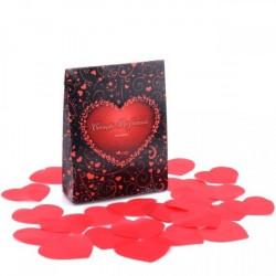 Pétalas Em Formato De Coração Perfumado - ShopSensual